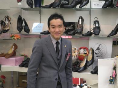 """我社の、""""微笑み王子!"""" 大森猛志!!"""