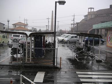 今朝、9:30頃、倉敷の雪!!