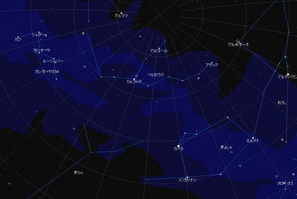 10月29日夜空