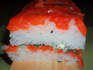 サーモンの押し寿司2