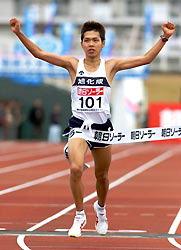 別府大分毎日マラソン:初マラソンの足立知弥が優勝