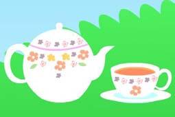 お茶オレンジ