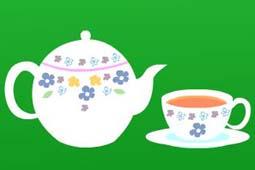 お茶ブルー