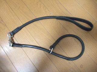 馬具職人が作ったリードと首輪(3)