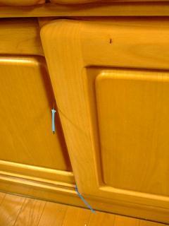 戸棚の中身をめぐってのルーアとの攻防(1)