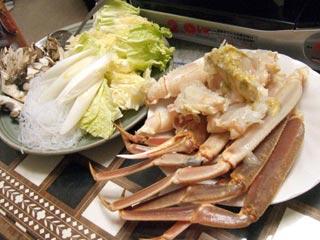 カニ鍋(1)