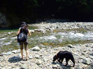 夏はやっぱり川遊びだね!(2)