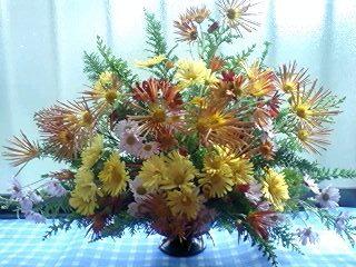 菊のアレンジ