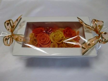 オレンジ系フレームアレンジ