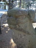 090506広島神社狛犬1