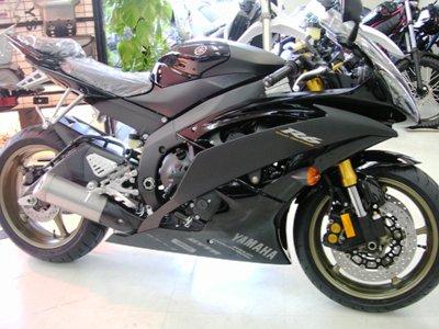 '08 YZF-R6 ブラック