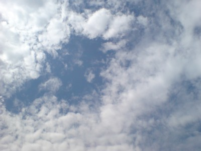 キレイな空