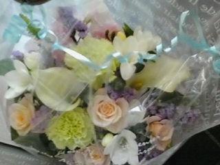 お礼のお花♪