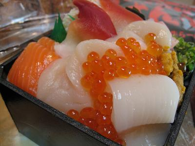 海鮮丼2.22