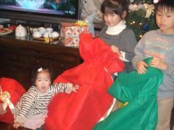 yunクリスマス袋