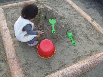 おうちにお砂場2