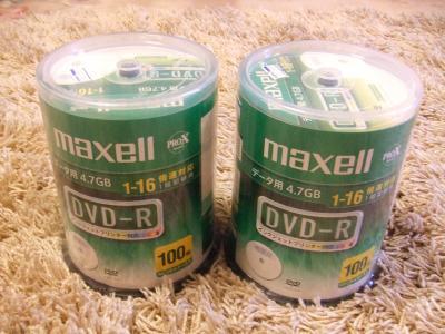 DVD-R100枚