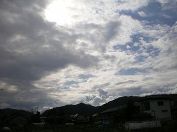 5月30日夏の雲