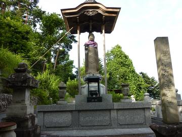 090713刈萱上人の墓