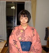 パイナップル浴衣