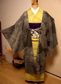 シンプル羽織