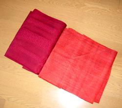紗と羅の帯