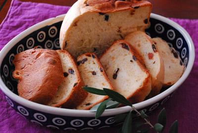 レーズンブリオッシュパン1