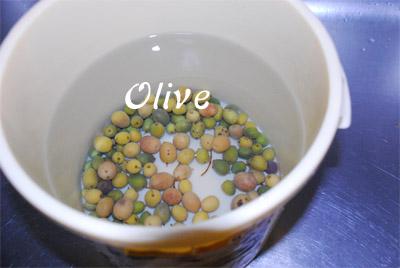 オリーブ塩漬け完成