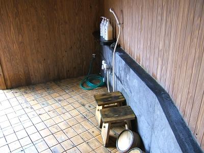 藤もと 家族風呂(天の湯)洗い場