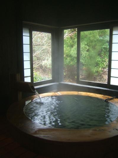 藤もと 家族風呂 ○(まる)湯