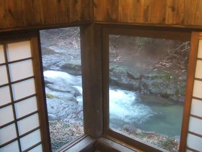 藤もと 家族風呂 □(ます)湯からの眺め