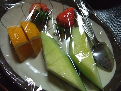 藤もと 夕食 デザート