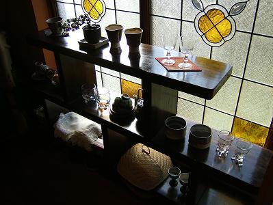 ほたるの長屋 部屋 「有為の奥山」 飾り棚