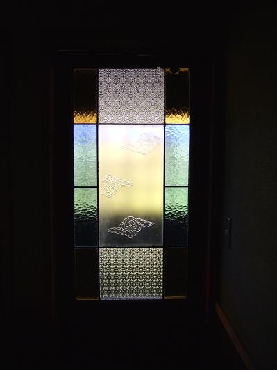 ほたるの長屋 「有為の奥山」 内湯へのドア