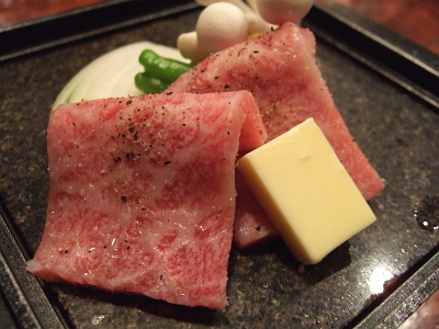 ほたるの長屋 夕食 肉料理