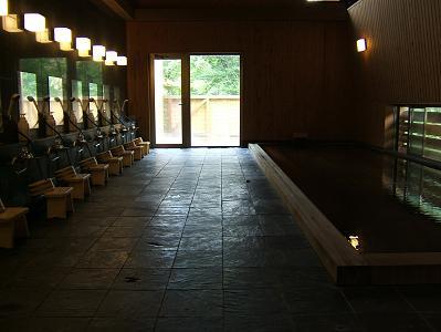 花木の宿 大浴場全体