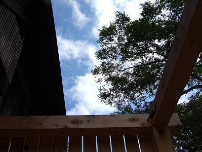 花木の宿 部屋付露天風呂入浴目線