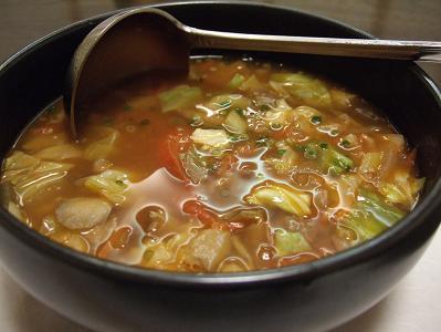 牛肉野菜スープ
