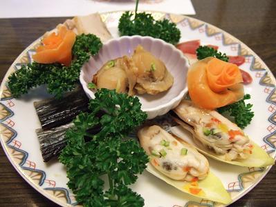 花木の宿 夕食 前菜