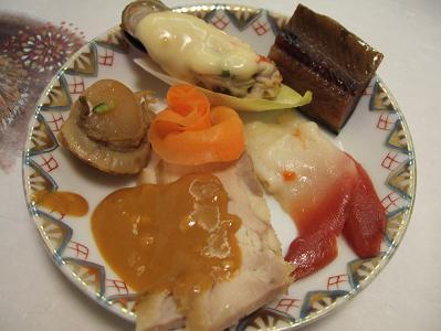 花木の宿 夕食 前菜個別