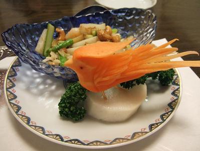 野菜のXO醤炒め