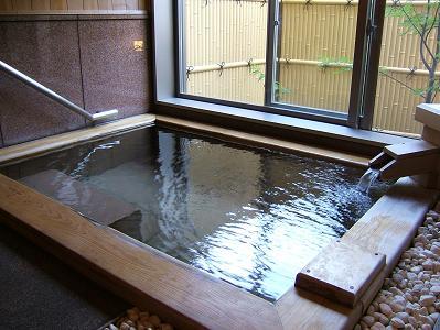 渓流荘しおり絵 貸切風呂
