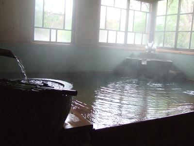 旅籠 かやうさぎ 共同浴場(岩魚)