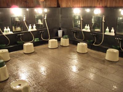 栗駒山荘洗い場