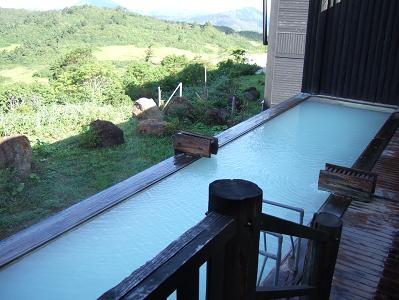 栗駒山荘露天風呂1