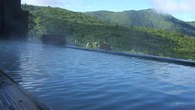 栗駒山荘露天風呂ワイド撮影4