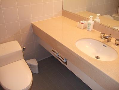 栗駒山荘特別室洗面所