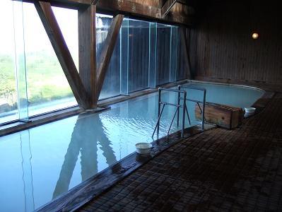 栗駒山荘内湯