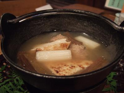 栗駒山荘夕食 籠盛り3