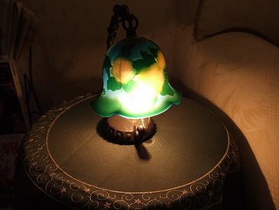 都わすれ 宿泊者専用ラウンジ-夜のランプアップ